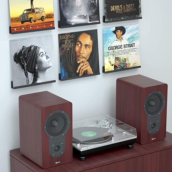 vinyl record storage wall mount