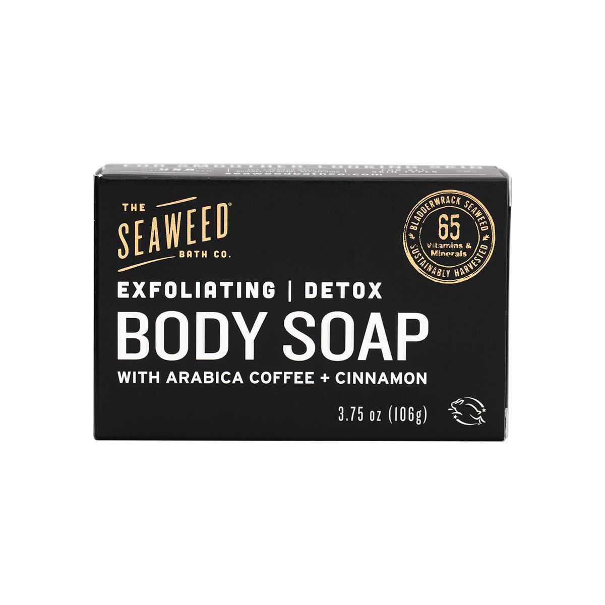 The Seaweed Bath Co. Exfoliating Detox Body Soap