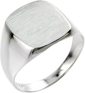 Men's 925 Sterling Silver Signet Ring