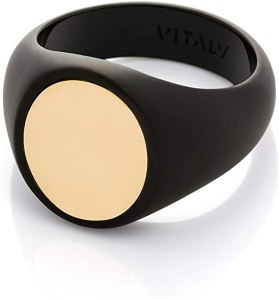 Vitaly Two Tone Signet Ring