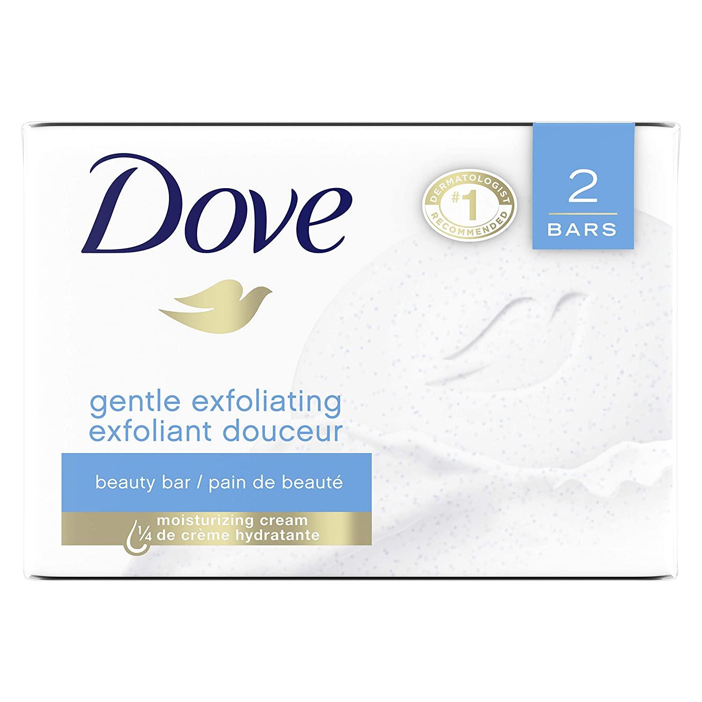 Dove Gentle Exfoliating Beauty Bar
