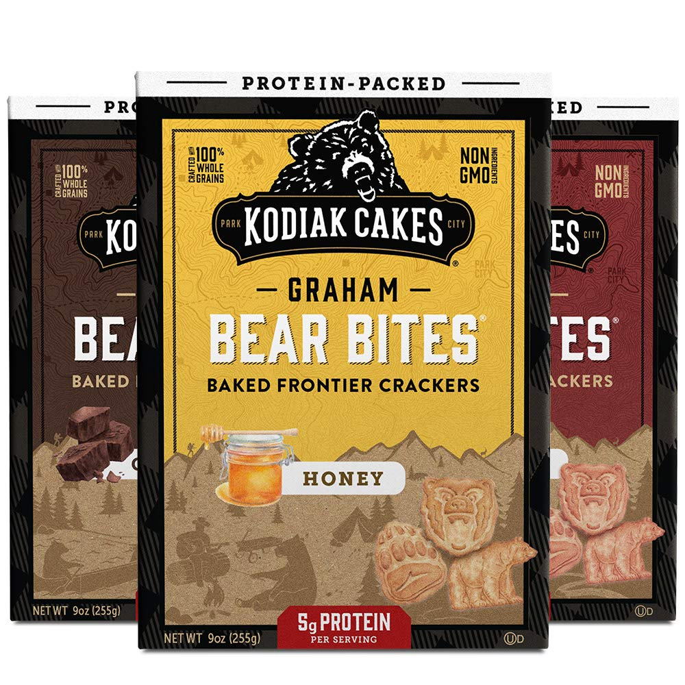 kodiak bear bites - healthy snacks