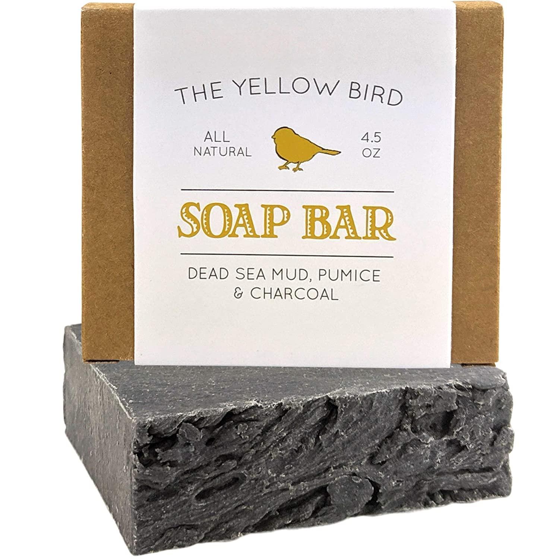 The Yellow Bird Dead Sea Mud Soap Bar