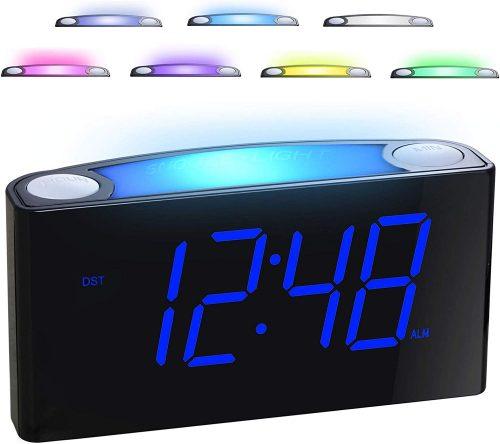 alarm clock night light