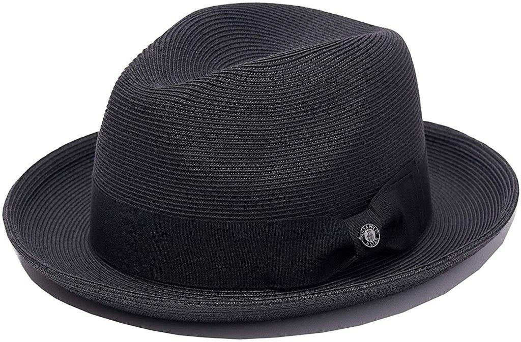 Pineapple&Star Genoa Fedora Bucket Sun Straw Beach Hat