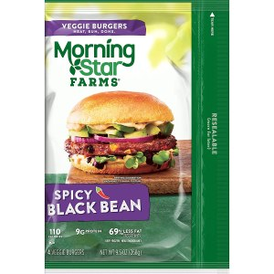 MorningStar Farms Spicy Black Bean Burgers