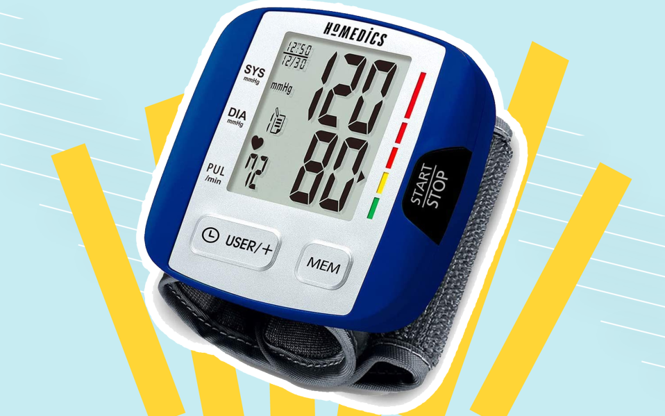 digital wrist blood pressure monitor featured