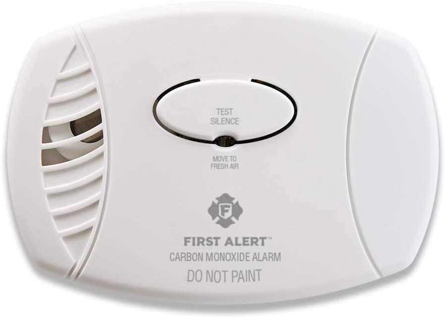 First Alert Plug Battery Backup CO Alarm
