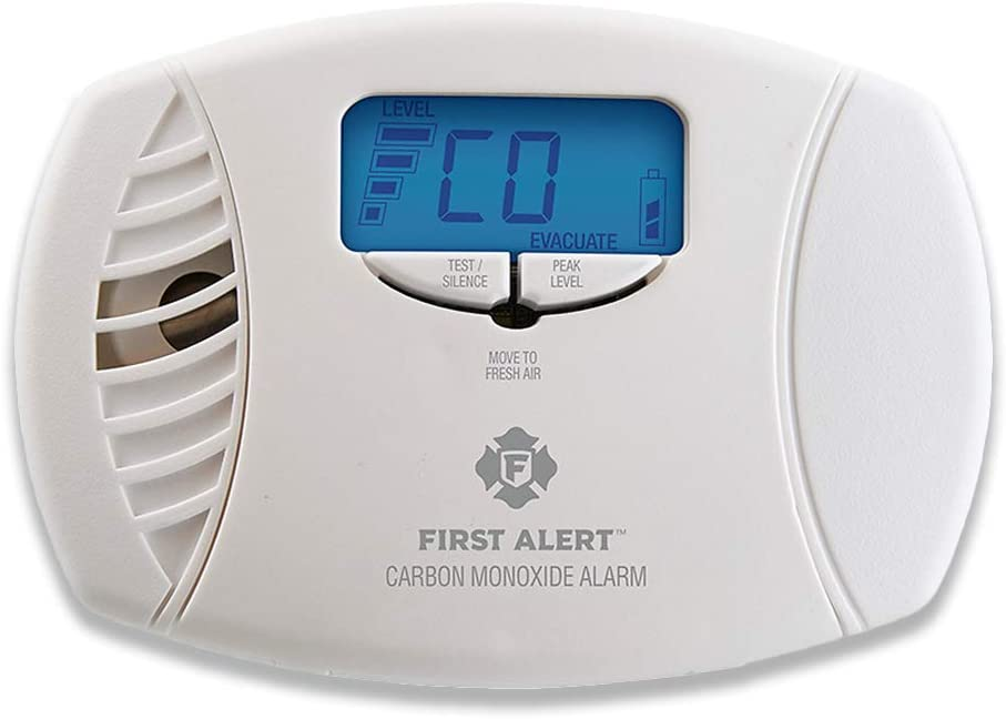 First Alert Plug-In Alarm with Battery Backup