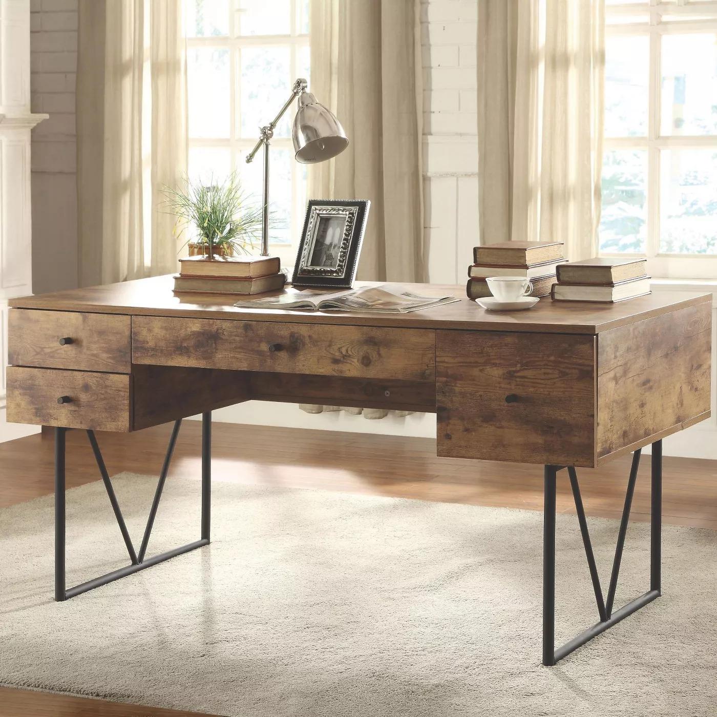 Coaster Home Furnishings Barritt 4 Drawer Home Office Writing Desk