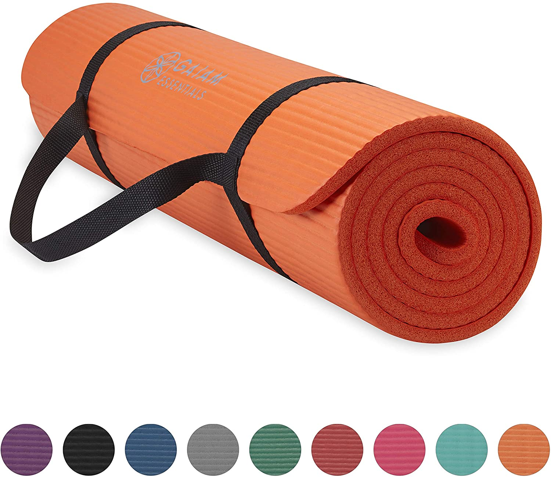 Gaiam essentials yoga mat, how to clean a yoga mat