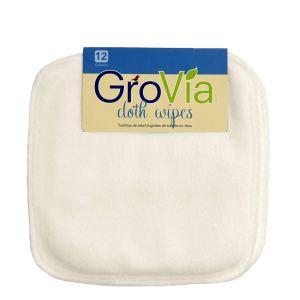 GroVia cloth diapering wipes, toilet paper alternatives