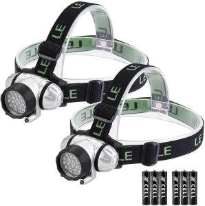 le led headlamp flashlight