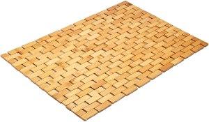 Morvat bamboo bath mat