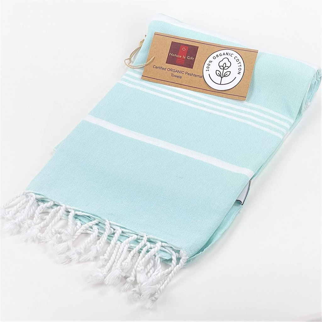 Organic Prewashed Cotton Turkish Beach Peshtemal Towels