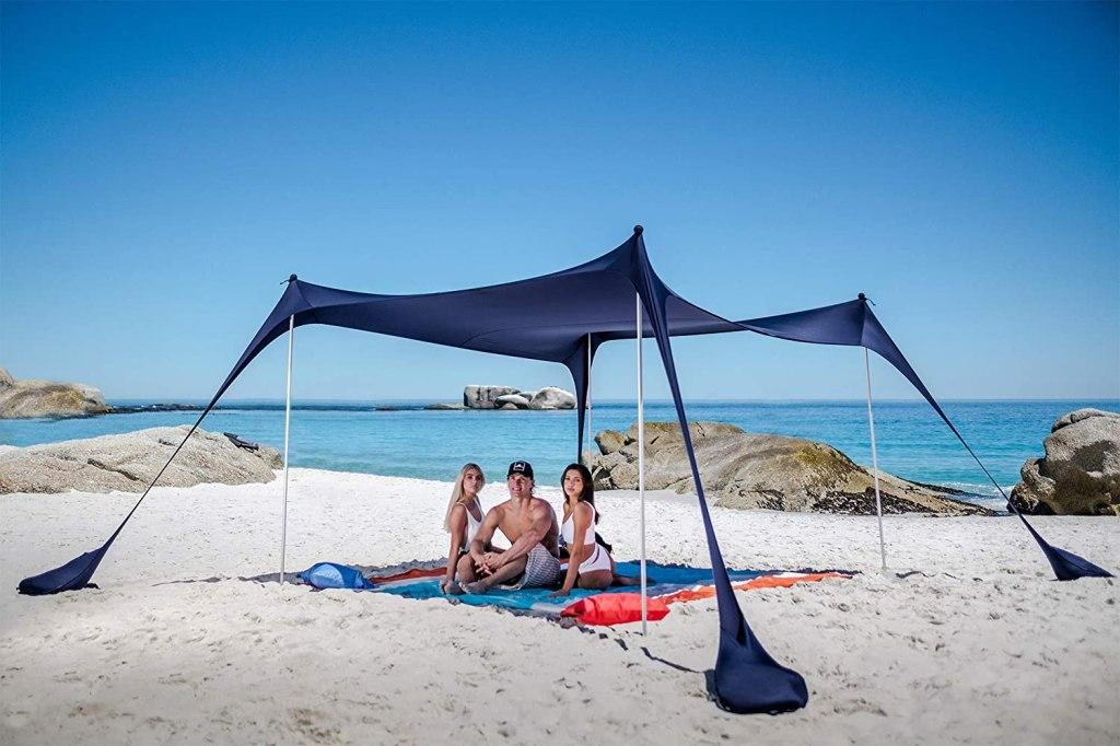 SUN NINJA Beach Tent