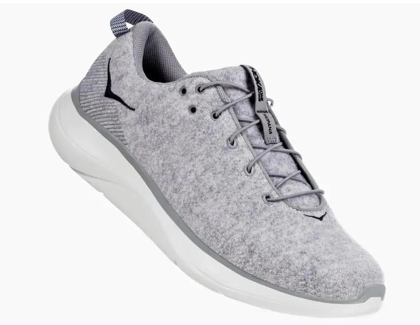hoka one one hupana wool sneaker