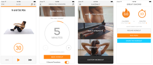 best workout apps ab core workouts