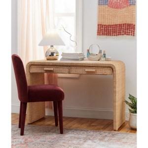Marisol Rattan Desk