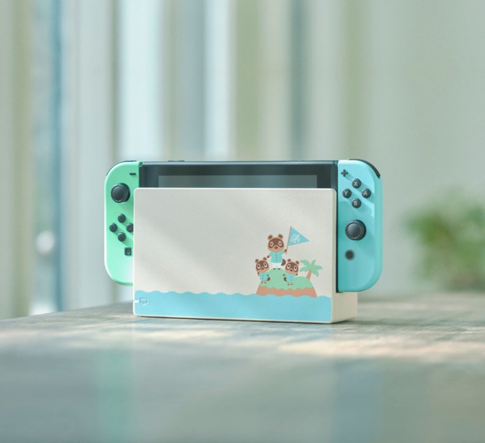 limited edition animal crossing switch