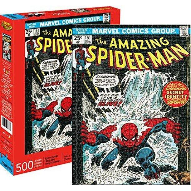 best Spider-man toys aquarius marvel puzzle