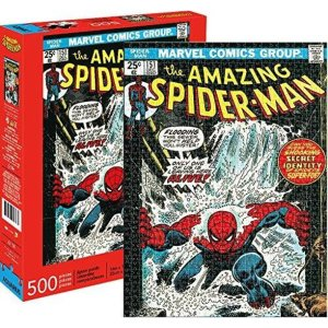 best Spider-man toys aquarius marvel puzzle