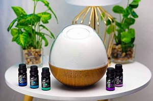 ArtNaturals Essential Oil Diffuser & Baby White Noise Sound Machine