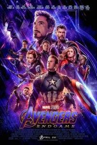 Avenger's Endgame Movie Poster