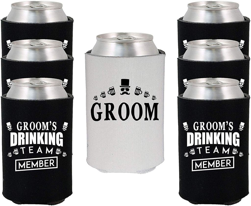 bachelor party gifts beer koozies