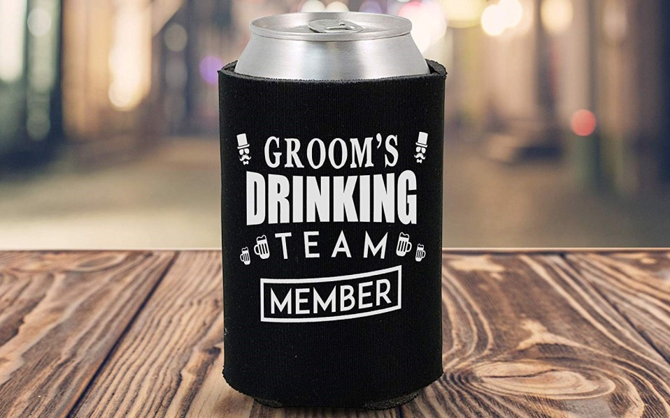 bachelor party gifts beer koozies featured