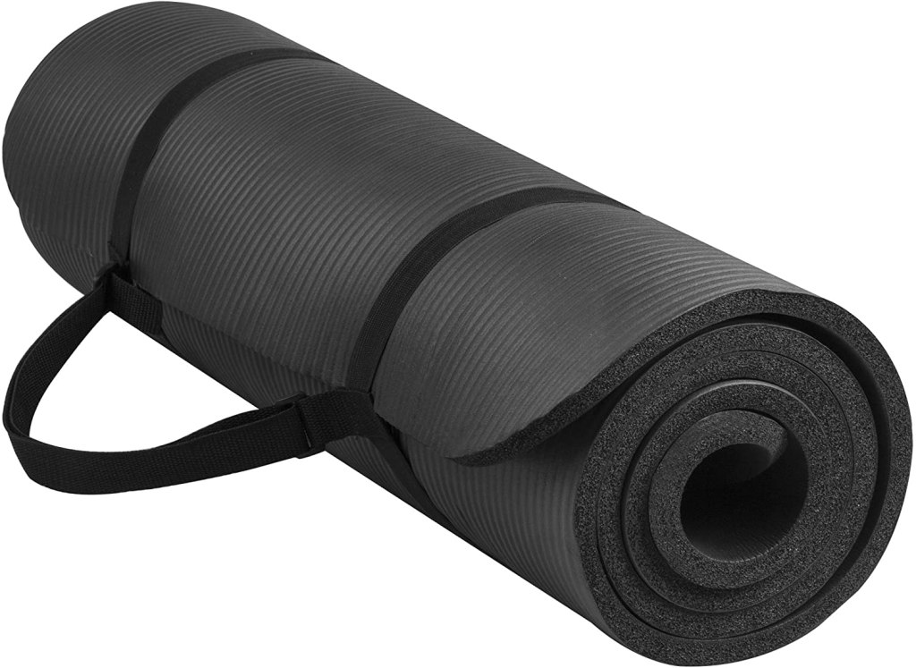balance from exercise mat