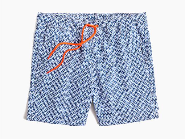 best swim trunks for men - j. crew