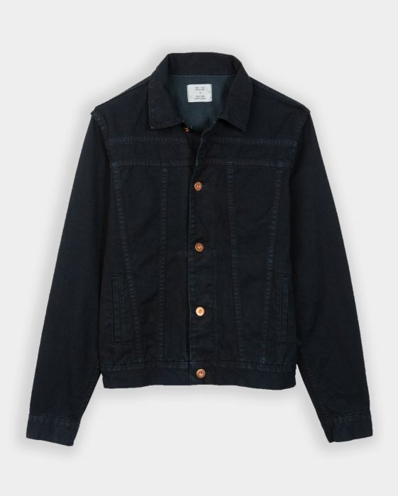 billy reid denim coat