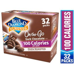 healthy snacks for work blue diamond dusted almonds