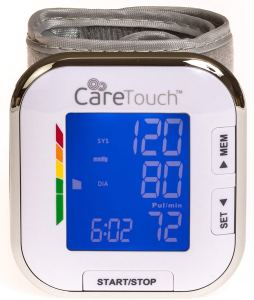 care touch digital wrist blood pressure monitor