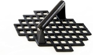 Charcoal Champion Cast Iron Grill Marks Press