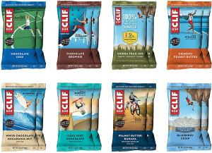 healthy snacks for work cliff bar variety pack