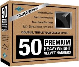 best hangers closet complete premium velvet
