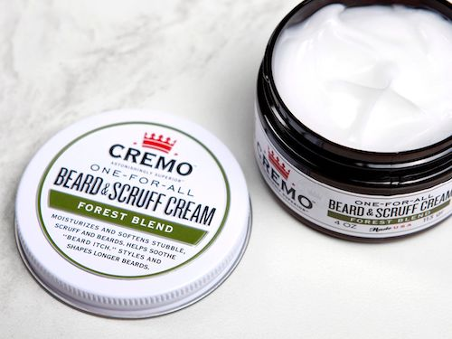 Cremo Beard & Scruff Cream in Forest Blend