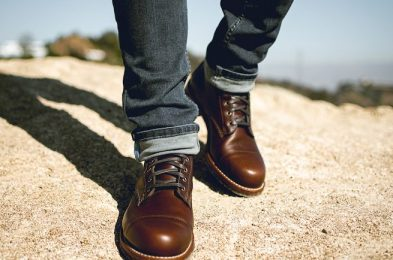 Anthony Mastracci Wearing the Wolverine 1000 Mile Boot