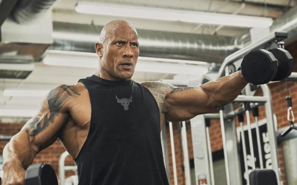 Dwayne Johnson Project Rock Under Armour