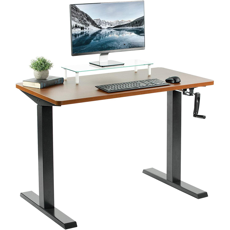 "VIVO Manual 43"" x 24"" Stand Up Desk"