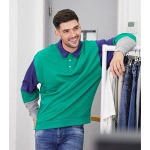 ASOS Oversized Rugby Sweatshirt