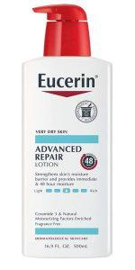 Eucerin - best men's body lotion