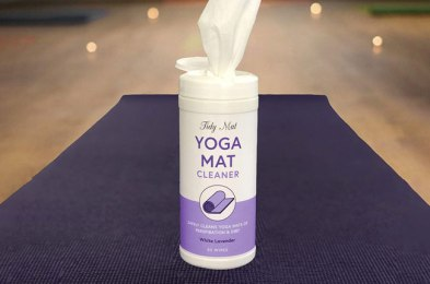 how to clean and care for your yoga mat in 8 steps