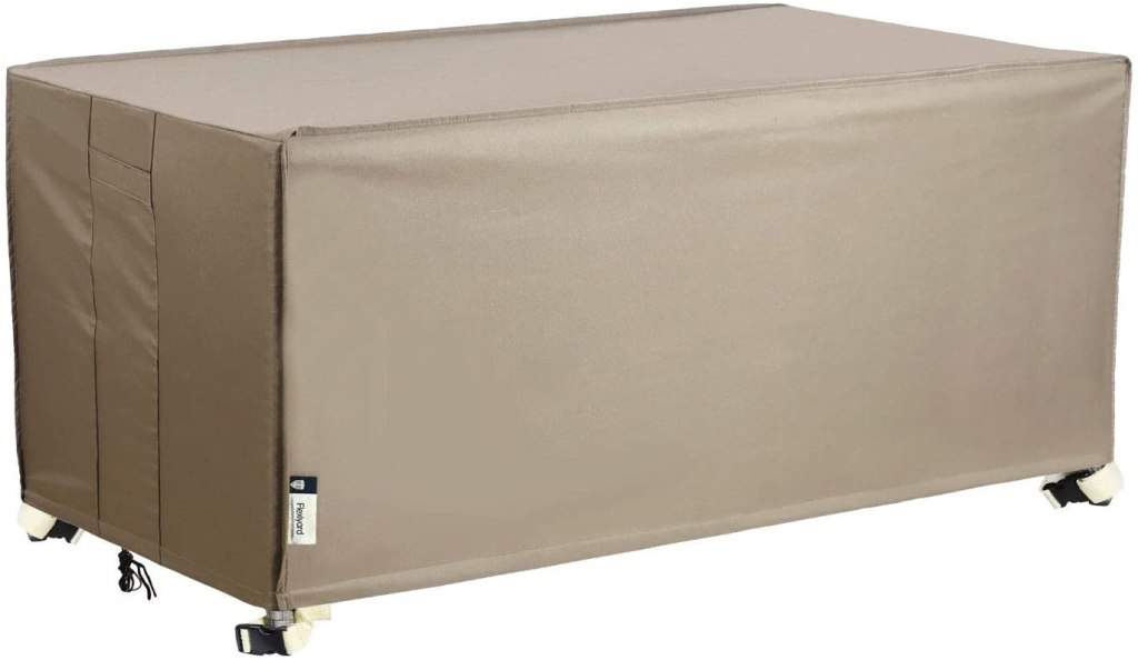 waterproof deck box cover