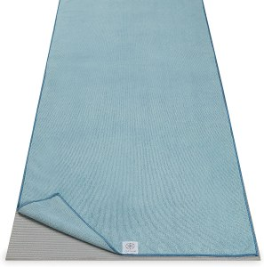 Gaiam microfiber yoga mat towel, how to clean a yoga mat