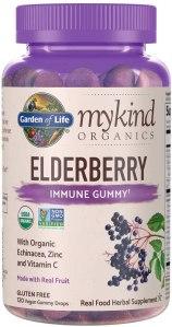 Garden of Life elderberry supplements