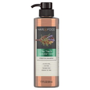 hair food tea tree and lavender oil shampoo, sulfate-free shampoo