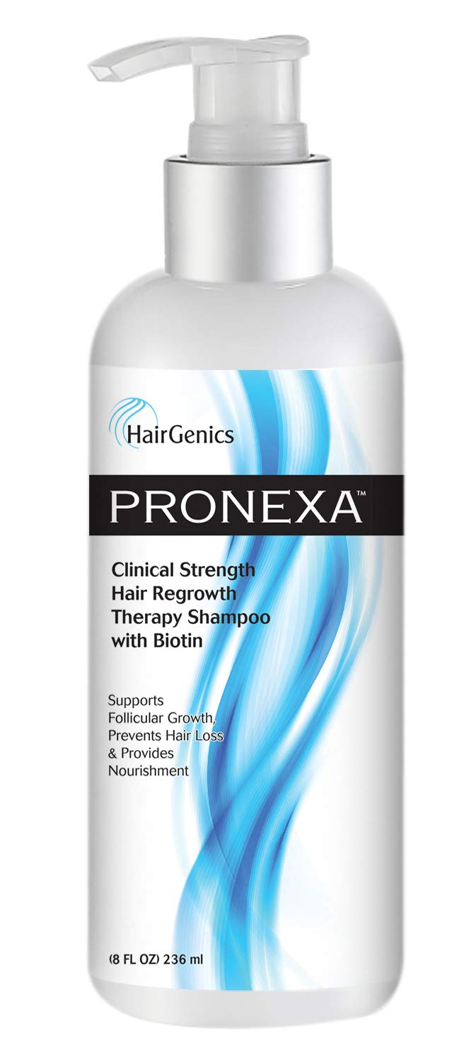 Hairgenics pronexa clinical strength hair growth regrowth therapy hair loss shampoo